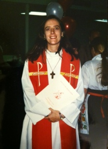 my ordination, 1995